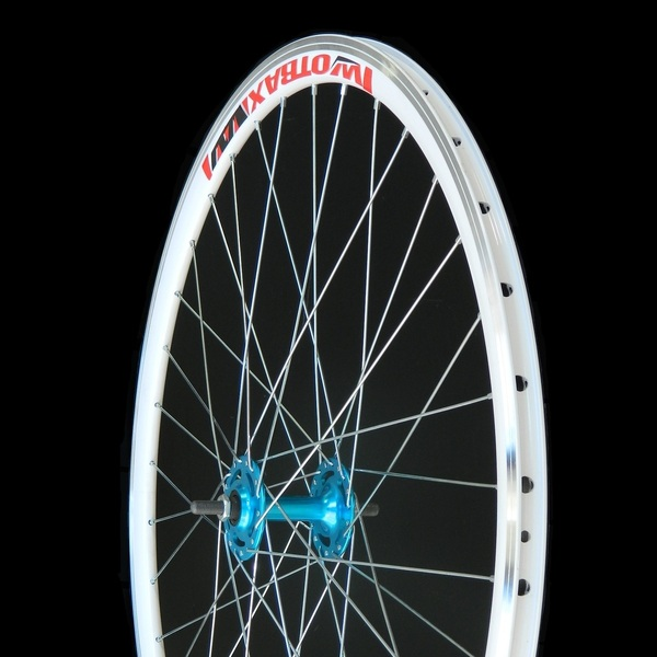 Kerékpár első kerék 700 Fixi kék 14