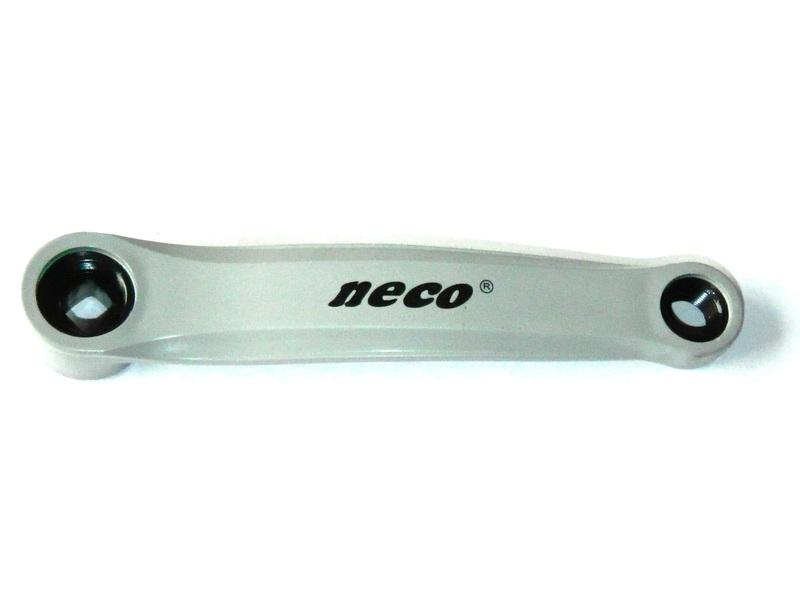 Bal hajtókar NECO szürke 4szög