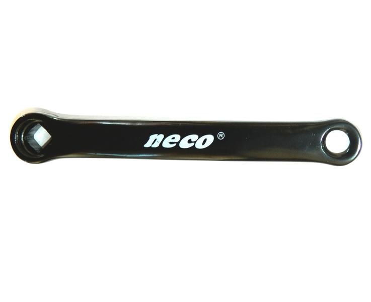 Bal hajtókar NECO fekete 4szög acél