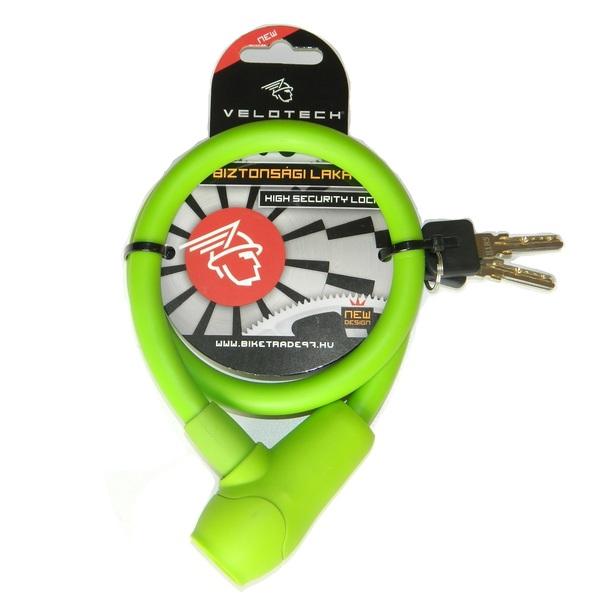 Lakat Velotech 12x650 mm zöld