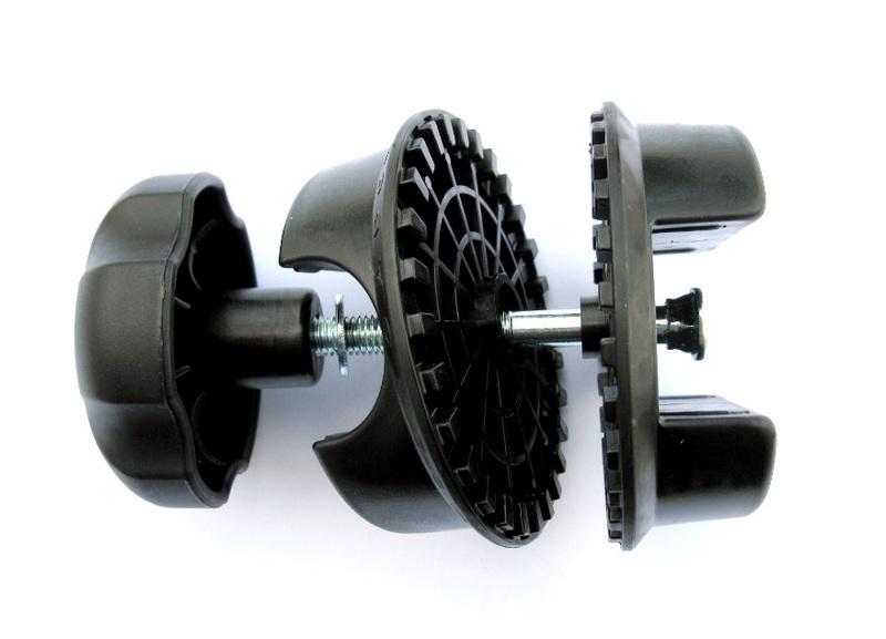 Műanyag csukló garnitúra vonóhorgos kerékpártartóhoz