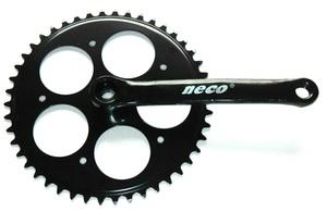 NECO 46T acél fekete 170mm