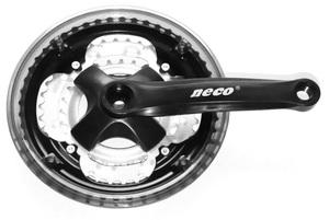 NECO 48/38/28T acél fekete