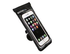 Telefontartó vízálló fekete