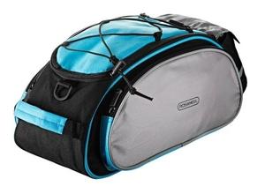 Csomagtartó táska világoskék