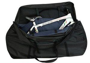 Kerékpárszállító táska fekete
